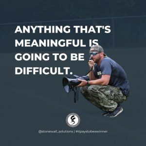 meaningful is going to be difficult
